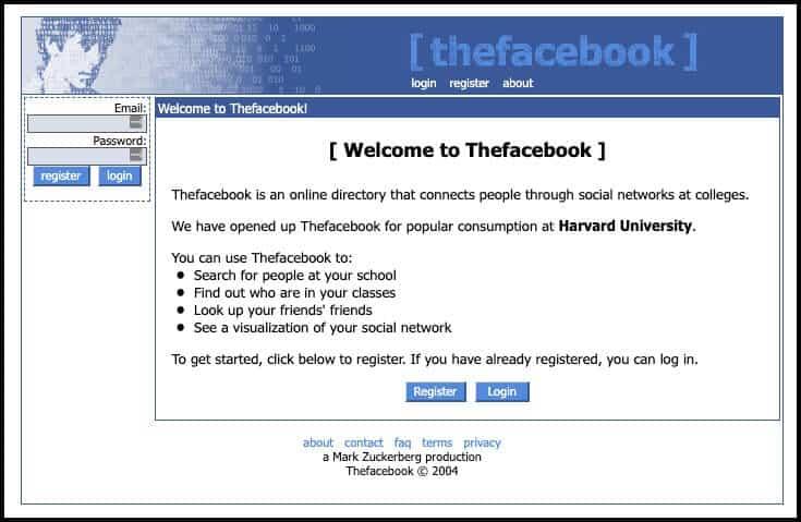 The Facebook (2004)