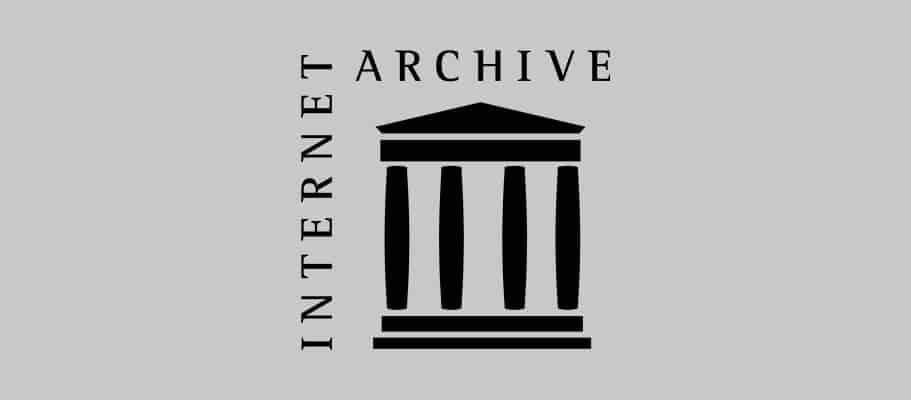 O que é Internet Archive?