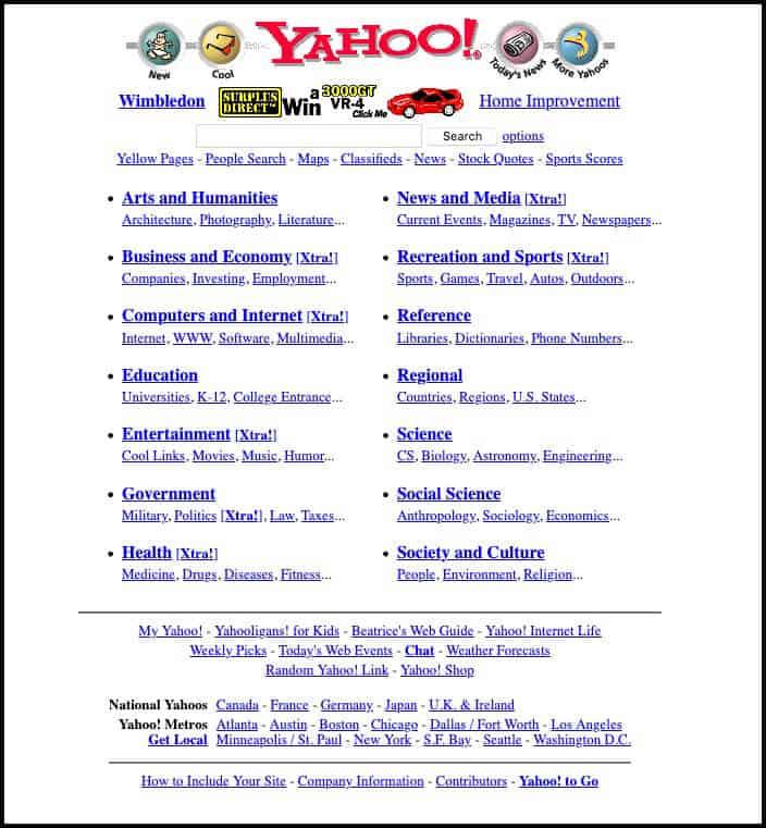 Yahoo! (1999)