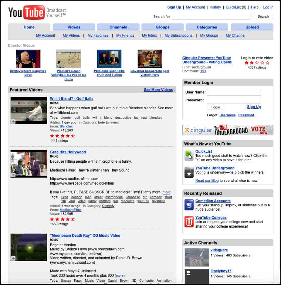 YouTube (2005)