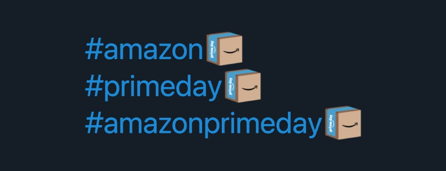 Amazon Prime Day Emoji on Twitter